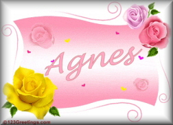 Agnes name graphics