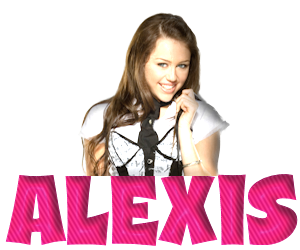 Alexis name graphics