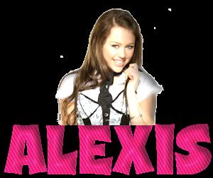 Alexis name graphics