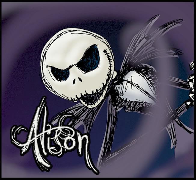 Alison name graphics