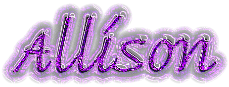 Allison name graphics