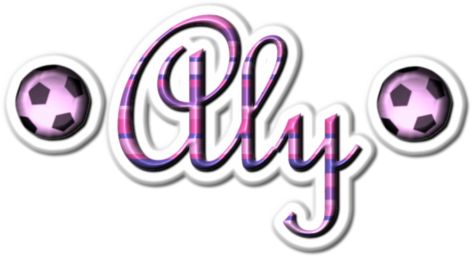 Aly name graphics