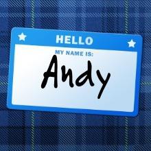 Andy name graphics
