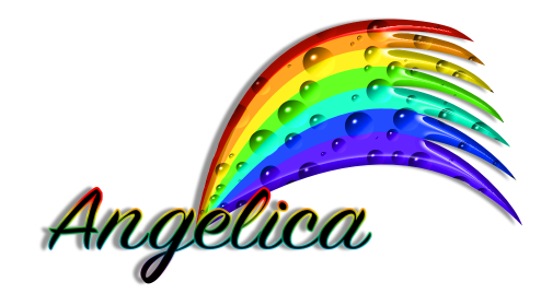 Angelica Name graphics