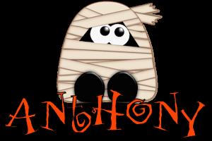Anthony name graphics