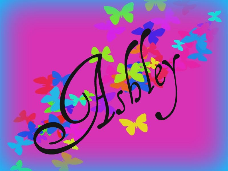 Ashley name graphics