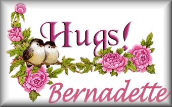 Bernadette name graphics