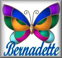Name graphics Bernadette