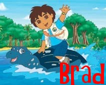 Name graphics Brad