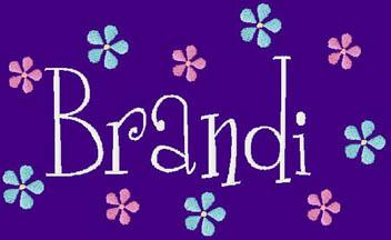 Brandi name graphics