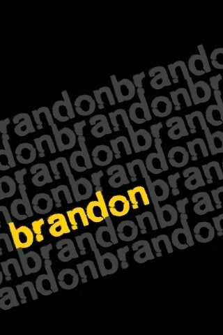 Brandon Name graphics