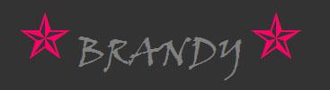 Brandy name graphics