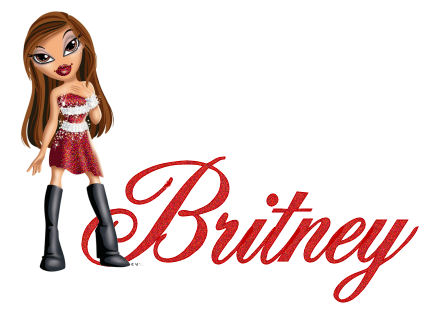 Britney name graphics
