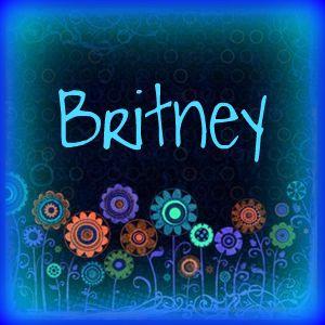 Britney name graphics