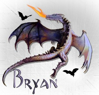 Bryan name graphics