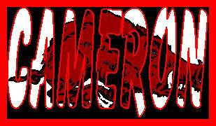 Cameron name graphics