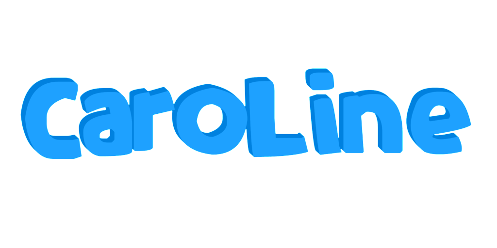 Caroline name graphics