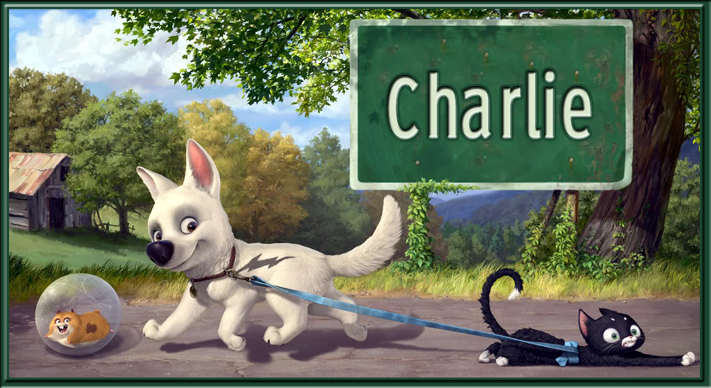 Charlie name graphics