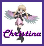 Name graphics Christina