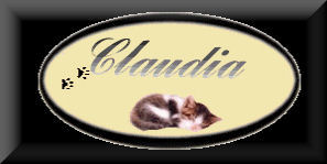 Claudia name graphics