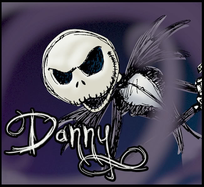Danny name graphics