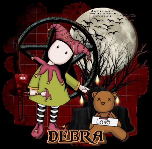 Debra name graphics