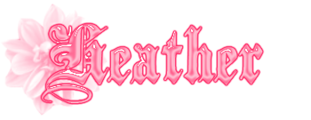 Heather name graphics