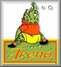 Irena name graphics