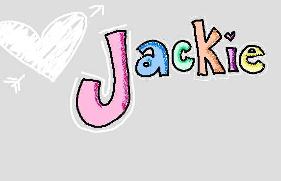 Name graphics Jackie