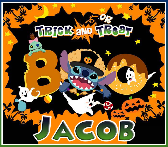 Name graphics Jacob