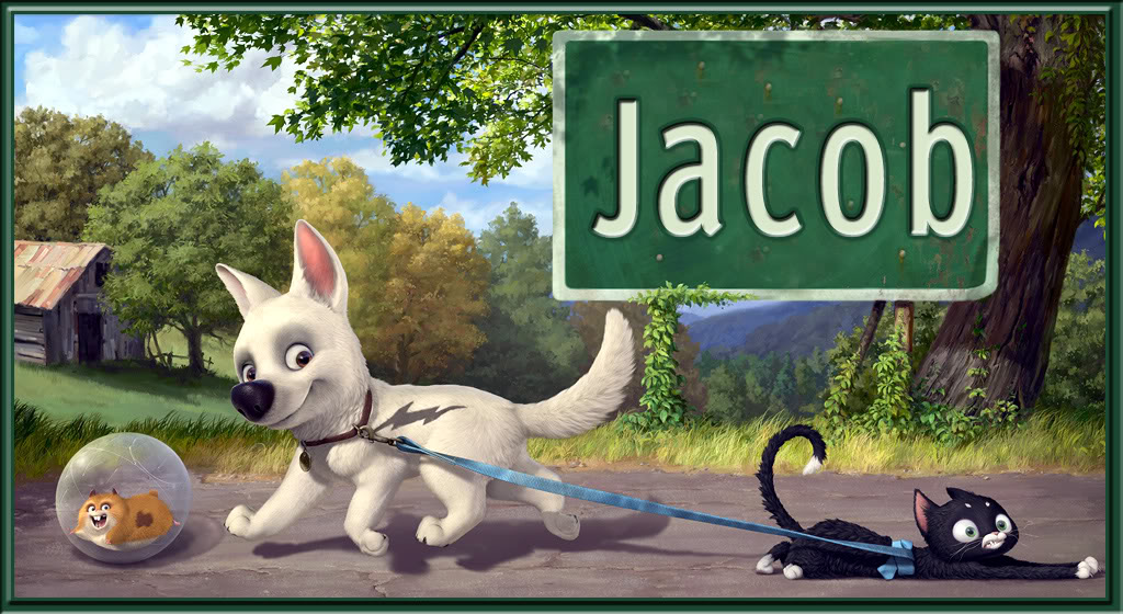 Jacob name graphics