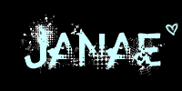 Janae name graphics
