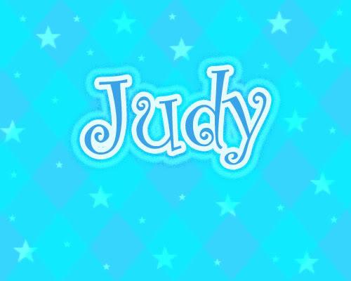 Name graphics Judy