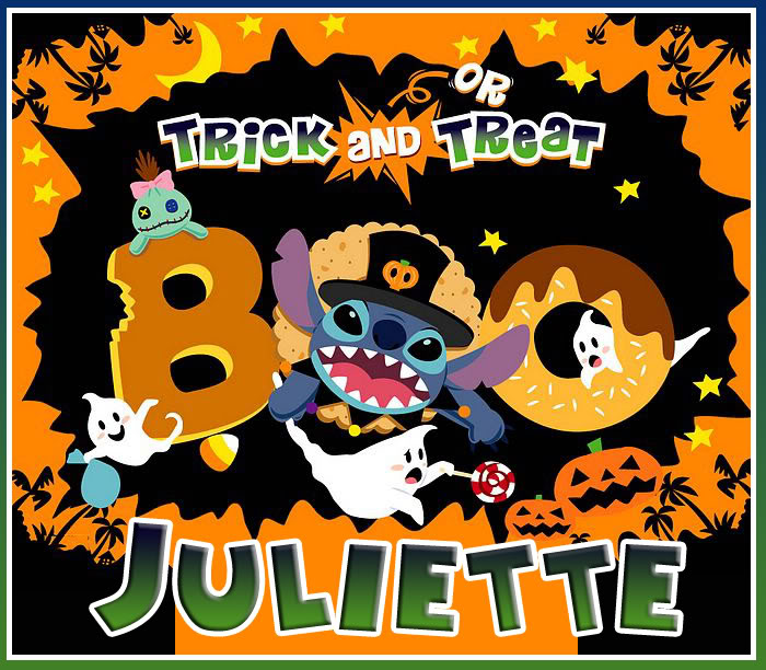 Name graphics Juliette