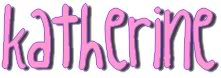 Katherine name graphics