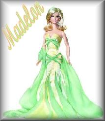 Madelon name graphics