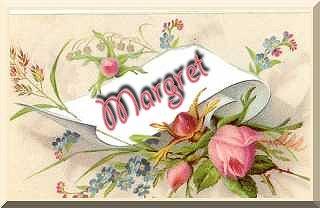 Margret name graphics