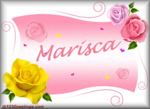 Name graphics Marisca