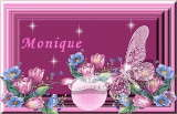 Monique name graphics