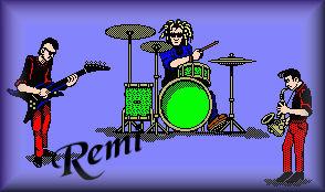 Name graphics Remi
