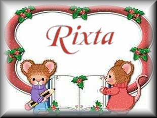 Rixta name graphics
