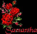 Samantha name graphics