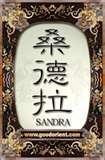 Sandra name graphics