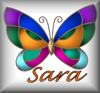 Name graphics Sara