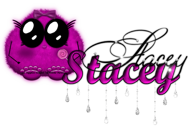 Name graphics Stacey