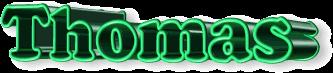 Thomas name graphics