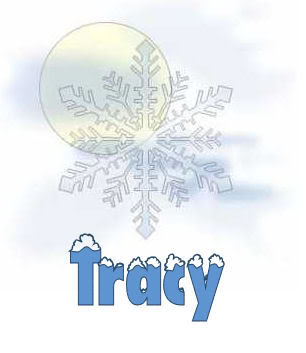 Name graphics Tracy