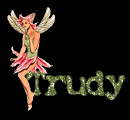 Name graphics Trudy
