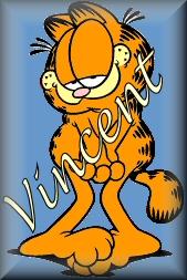 Vincent name graphics