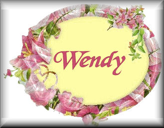 Wendy name graphics